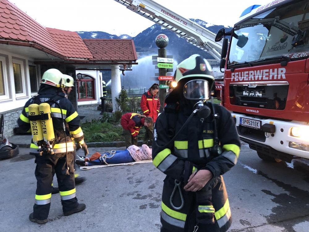 Gebäudebrand Hotel Glocknerhof
