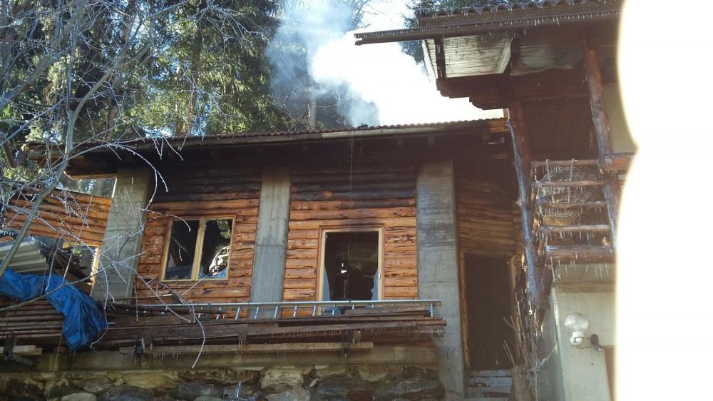 Wirtschaftsgebäudebrand am Zwickenberg