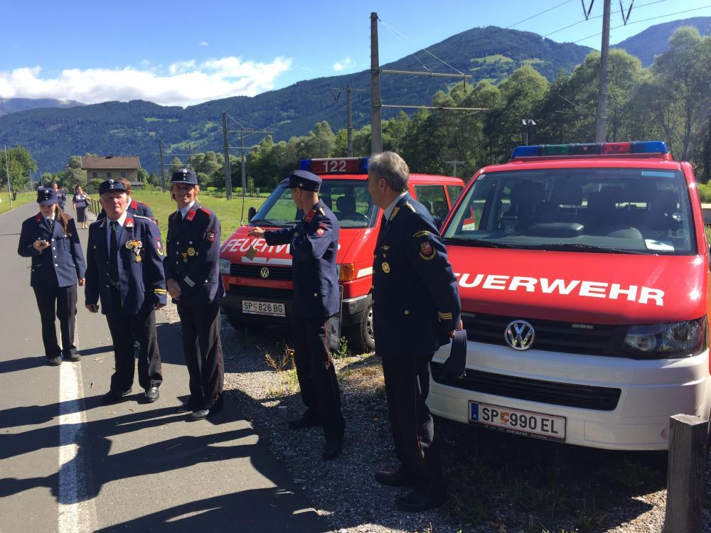 Fahrzeugsegnung in Kleblach