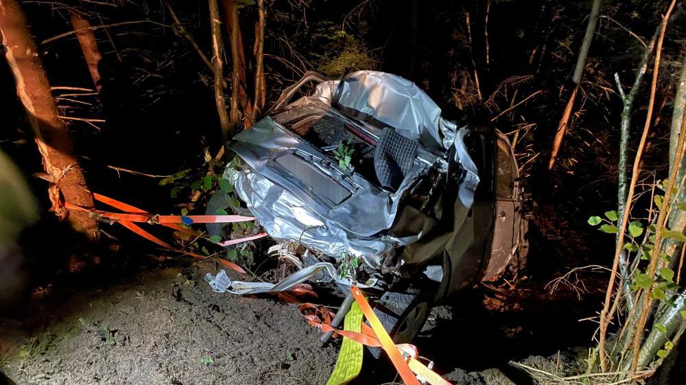Schwerer Verkehrsunfall am Rottenstein