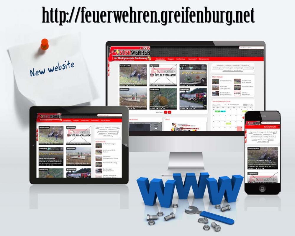 Die neue Webseite der Greifenburger...