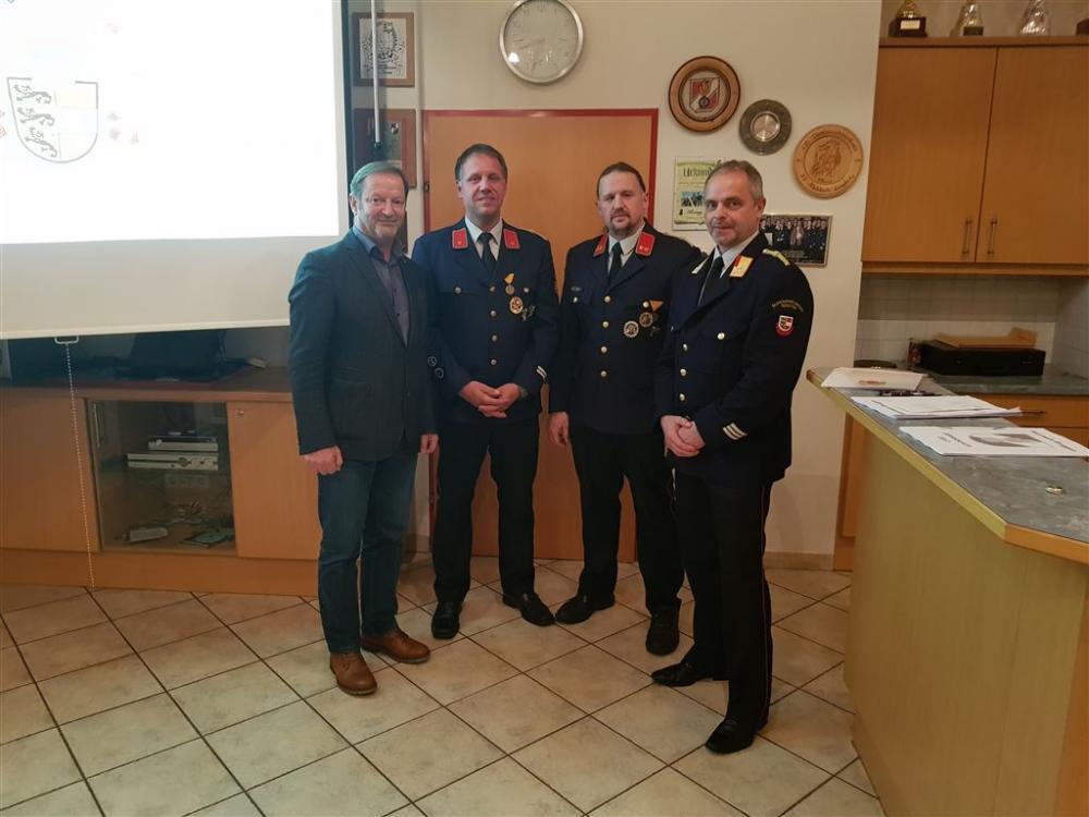 Jahreshauptversammlung der Feuerwehr...