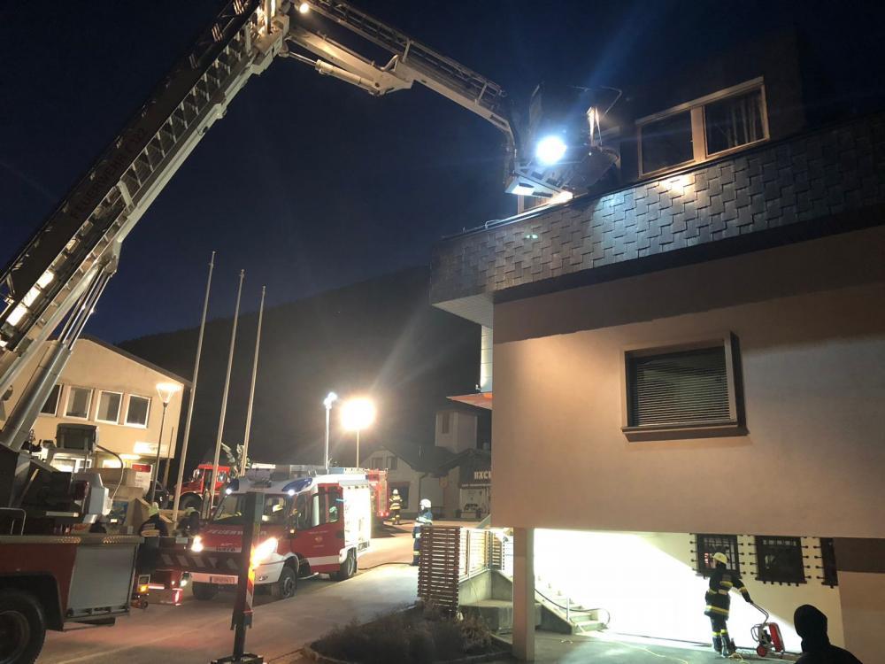 Küchenbrand Raika Greifenburg