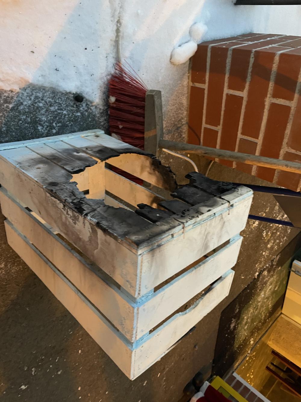 Brandeinsatz sowie Schneeeinsätze