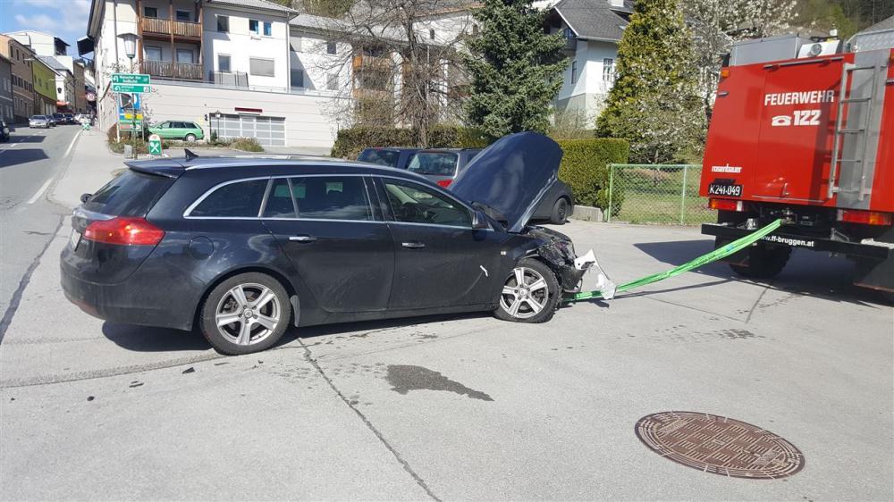 Verkehrsunfall in Greifenburg