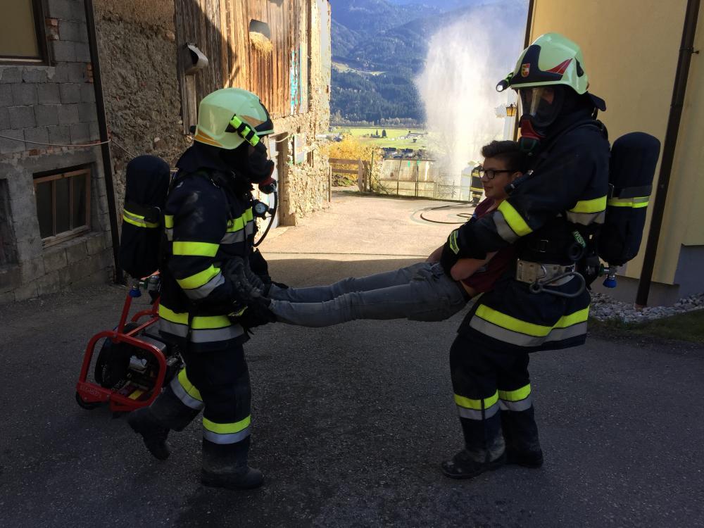 Wirtschaftsgebäudebrand am Emberg