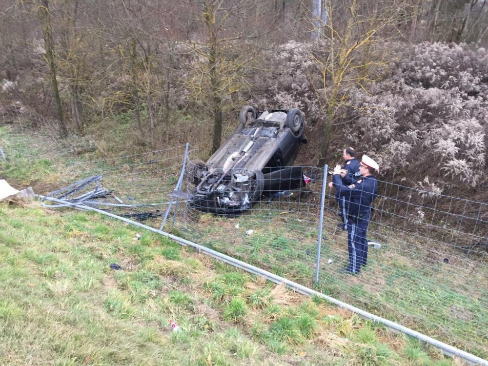 Verkehrsunfall B100 - Radlach
